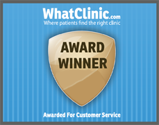What Clinic Customer Service Award
